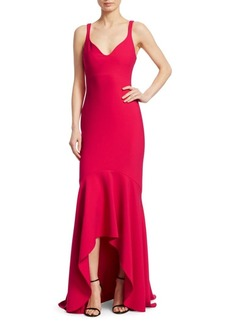 Cinq a Sept Sade High-Low Mermaid Gown