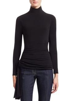 Cinq a Sept Shea Turtleneck Wrap Sweater