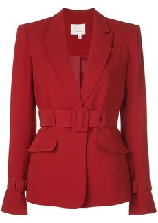 Cinq a Sept single-breasted belted blazer