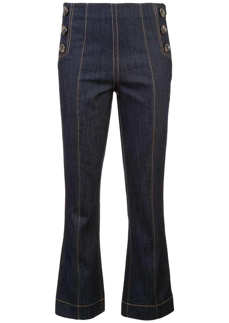 Cinq a Sept slim-fit jeans