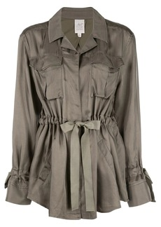 Cinq a Sept twill trench coat