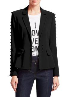 Cinq a Sept Vivianna Button-Sleeve Blazer