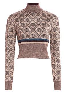 Cinq a Sept Weston Jacquard Knit Sweater