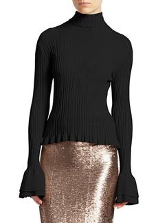 Cinq a Sept Zabrina Bell-Sleeve Knit Sweater