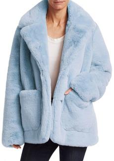 Cinq a Sept Zoya Faux Fur Coat