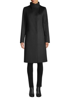 Cinzia Rocca Asymmetric Walking Coat