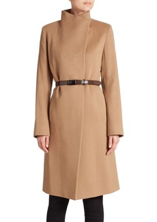 Cinzia Rocca Belted Cashmere Coat