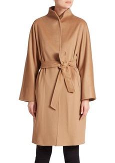 Cinzia Rocca Belted Wool Coat