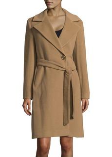 Cinzia Rocca Buttoned Wrap Coat
