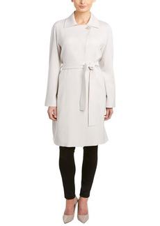 Cinzia Rocca Cinzia Rocca Belted Wool-Blend Coat