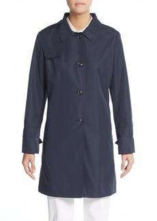 Cinzia Rocca DUE Plaid-Trimmed Coat