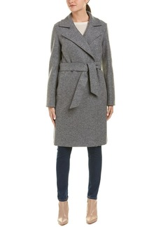 Cinzia Rocca Icons Boiled Unlined Wool Coat