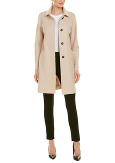 Cinzia Rocca Icons Boiled Wool Coat