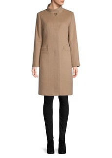 Cinzia Rocca Icons Classic Long-Sleeve Coat