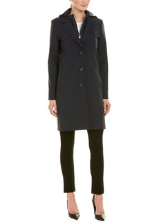 Cinzia Rocca Icons Hooded Bib Coat