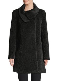 Cinzia Rocca Icons Icon Wrap-Neck Coat