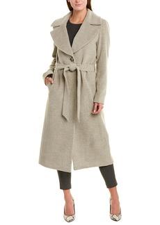 Cinzia Rocca Icons Long Alpaca & Wool-Blend Wrap Coat