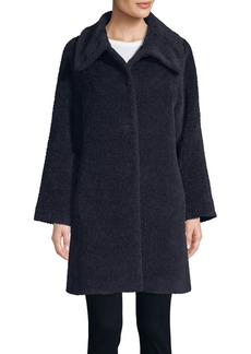 Cinzia Rocca Icons Long-Sleeve Spread Collar Coat