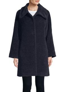 Cinzia Rocca Icons Long-Sleeve Spread Collar Coat