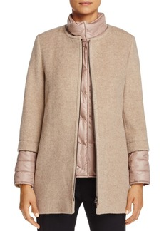 Cinzia Rocca Icons Mixed Media Coat