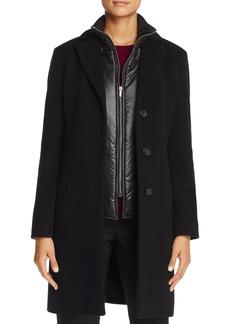 Cinzia Rocca Icons Puffer Bib Wool & Cashmere Coat