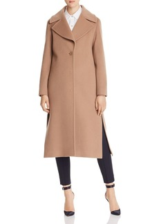 Cinzia Rocca Icons Wool & Cashmere Notched Collar Coat