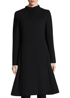 Cinzia Rocca Long Pleated Coat