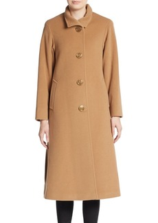 Cinzia Rocca Long Wool-Blend Coat