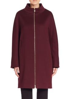Cinzia Rocca Relaxed Fit Woolen Coat