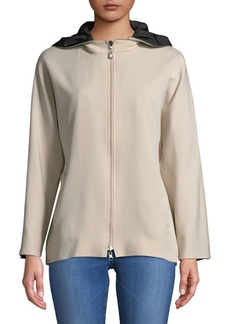 Cinzia Rocca Reversible Zip Hooded Jacket