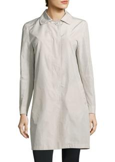 Cinzia Rocca Solid Button-Down Jacket