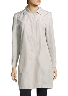 Cinzia Rocca Solid Button-Down Jacket
