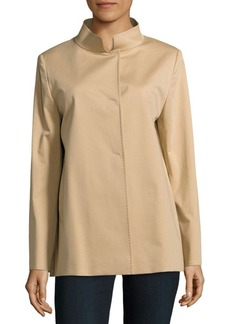 Cinzia Rocca Solid Stretchable Coat