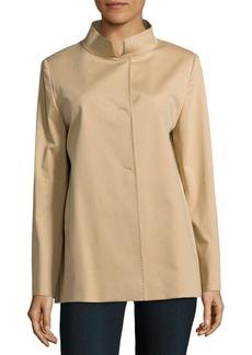 Cinzia Rocca Solid Stretchable Coat
