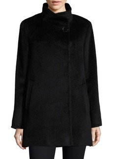 Stand Collar Car Coat