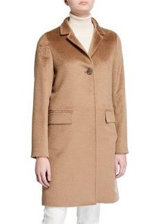 Cinzia Rocca Walker Single-Breasted Pea Coat