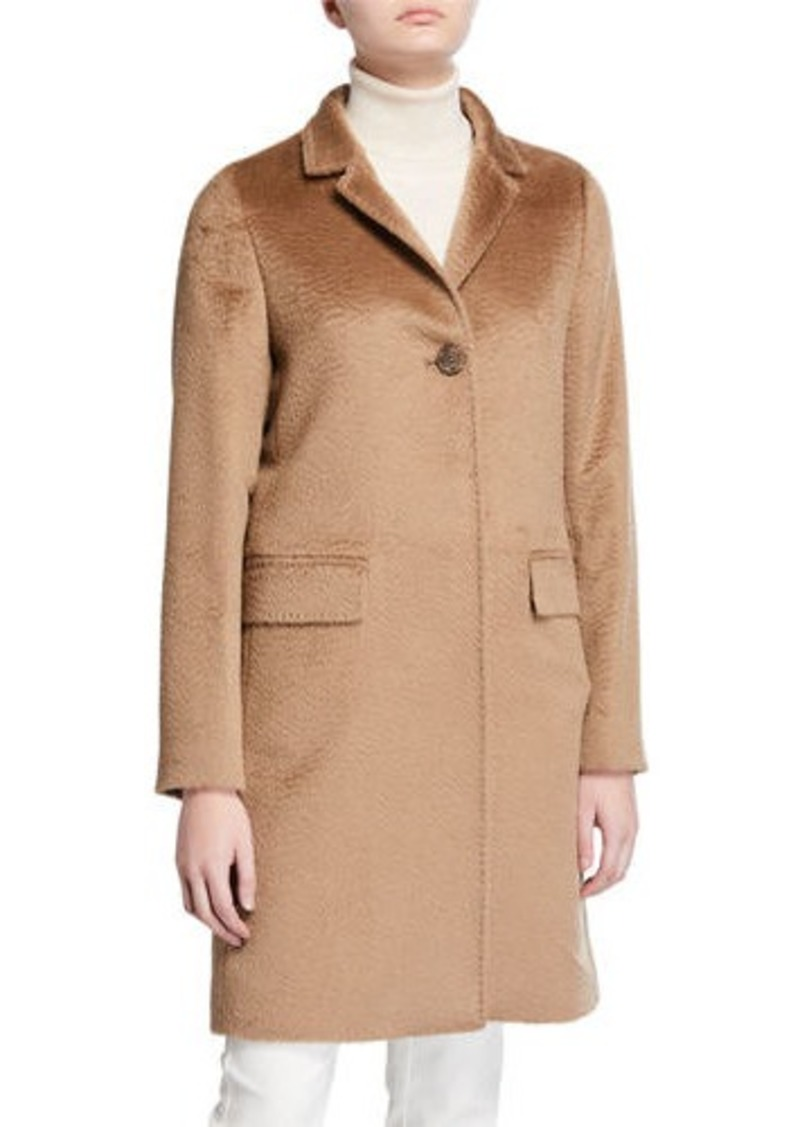 Cinzia Rocca Walker Single-Breasted Pea Coat