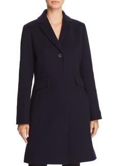 Cinzia Rocca Wool & Cashmere A-Line Coat