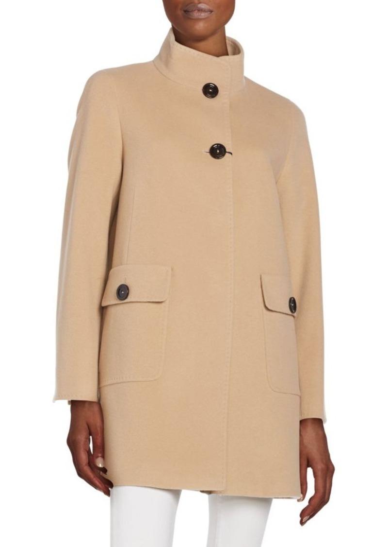 Cinzia Rocca Cinzia Rocca Wool & Cashmere-Blend Coat | Outerwear ...