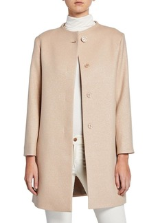 Cinzia Rocca Wool-Blend Relaxed Top Coat