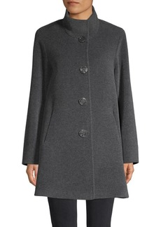 Cinzia Rocca Heathered Coat