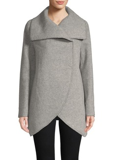 Cinzia Rocca Long-Sleeve Heathered Jacket