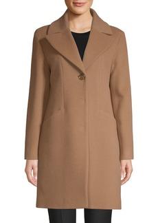 Cinzia Rocca Notch Collar Walker Coat