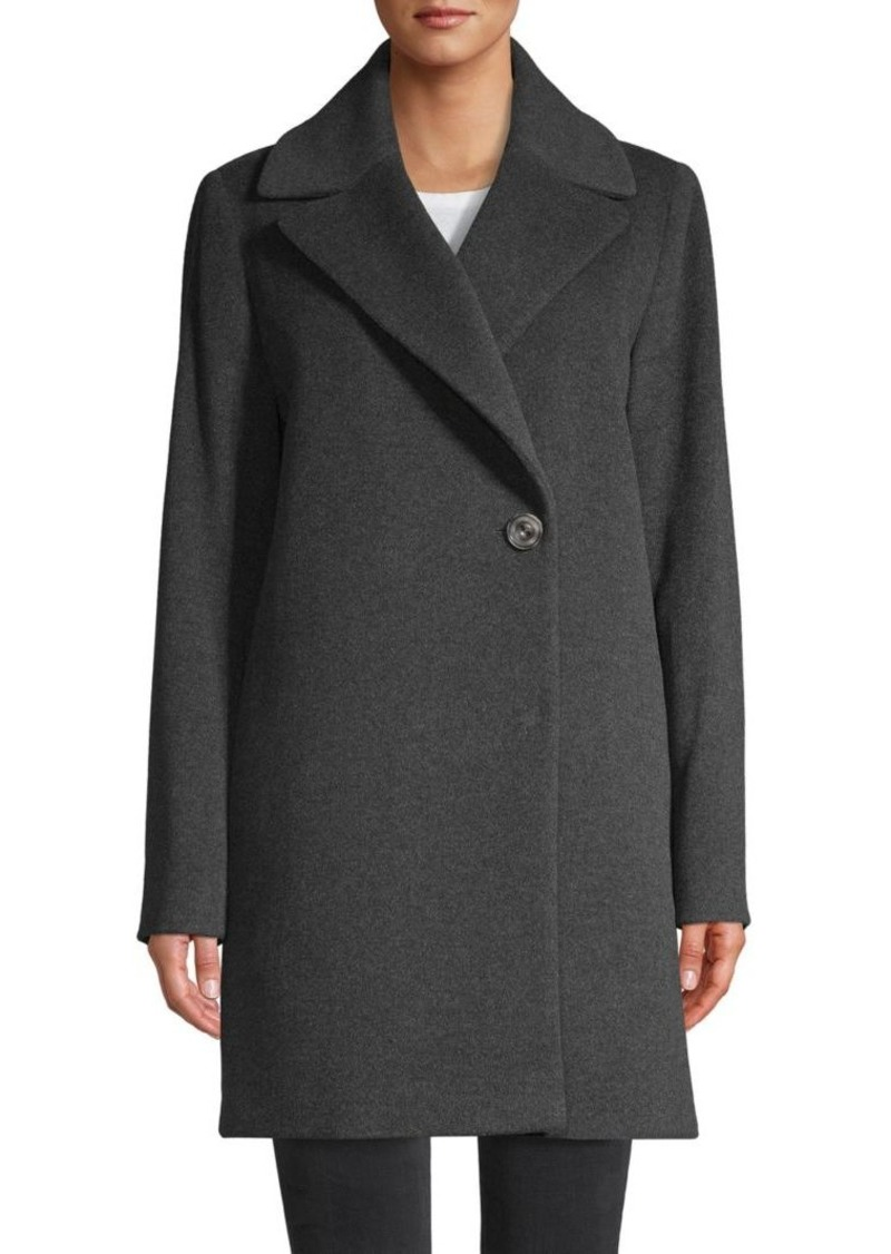 Cinzia Rocca Notch-Lapel Coat