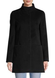 Cinzia Rocca Stand Collar Coat