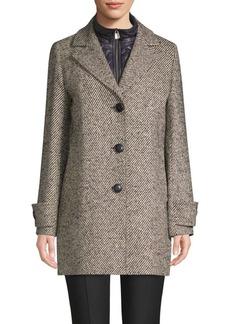 Cinzia Rocca Striped Long-Sleeve Jacket