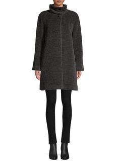 Cinzia Rocca Suri Alpaca & Wool Coat