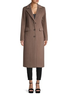 Cinzia Rocca Wool-Blend Long Coat