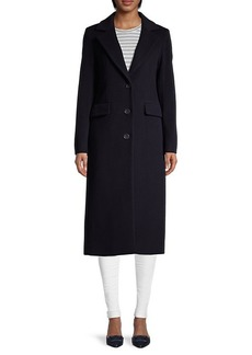 Cinzia Rocca Wool-Blend Notch Lapel Coat