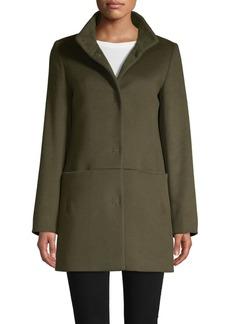 Cinzia Rocca Wool Blend Short Coat